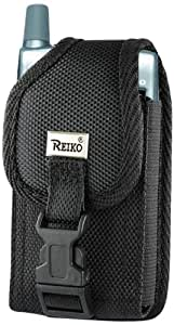 Reiko Rugged Pouch for Treo 650/700 - Non-Retail Packaging - Black