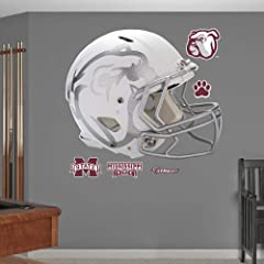 Mississippi State Bulldogs Helmet Fathead Wall Graphic by Fathead