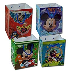 12-Pack Disney Mickey Mouse Large Party Gift Bags