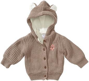 MEXX Baby - Mädchen Jacke K1HZO006, Gr. 50/56 (S), Braun (236)