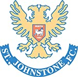 St Johnstone FC Scotland Soccer Football Car Bumper Sticker Decal 12 x 12 cm