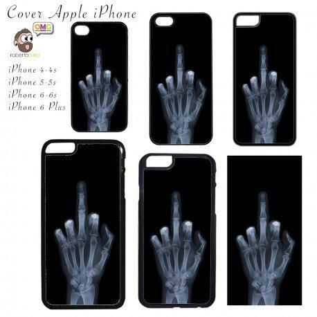 COVER Fuck You x ray Apple iPhone 4 5 6 Plus Case Mascherina Custodia - Apple iPhone 6 6S