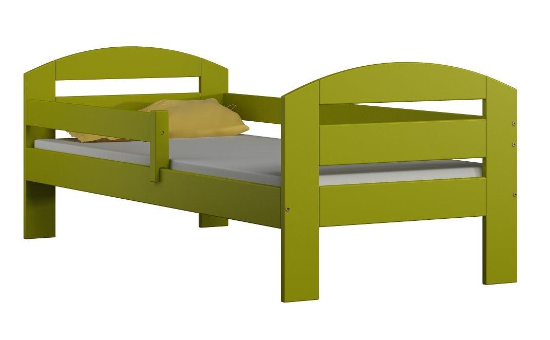 Kinderbett KAMI massivholz, inkl.Kokosmatratze + Schublade (160x80cm)