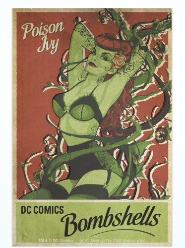 Licenses Products S-DC-0100 DC Comics Batman Poison lvy Sticker - 1