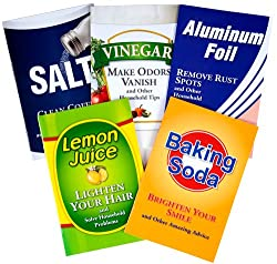 Amazing Uses for Household Products, 5-Book Library: Aluminum Foil, Baking Soda, Lemon Juice, Salt, Vinegar
