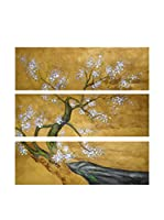 Legendarte Pintura al Óleo sobre Lienzo Primavera Giapponese