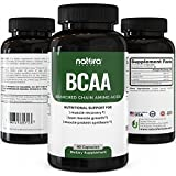 Top Rated BCAA Capsules | Most Potent Branched Chain Amino Acids on Amazon | The Best Natural Bodybuilding Supplement for Muscle Recovery, Muscle Building and Weight Loss | 60 Capsules