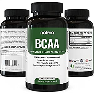 Top Rated BCAA Capsules | Most Potent Branched Chain Amino Acids on Amazon
