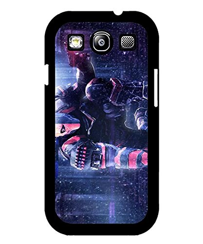 DC Comics Galaxy S3 Custodia Case, Deathstroke Durable Personalized Simple Creative Slim Compatible with Samsung Galaxy S3 i9300