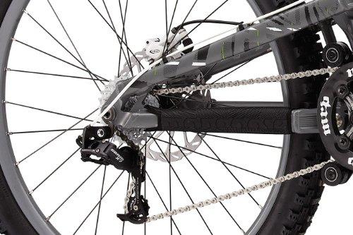 Mongoose Boot'r Apprentice gray grey (2011) (top tube length: 61.5 cm) downhill full suspension