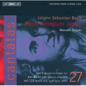 Wo soll ich fliehen hin, BWV 5: Recitative: Ich bin ja nur das kleinste Teil der Welt (Soprano)