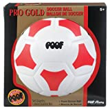POOF-Slinky 451BL POOF Pro Gold 7.5-Inch Foam Soccer Ball with Box, Size 3, Assorted Colors