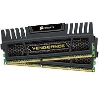 Corsair Vengeance 8 GB (2 x 4 GB) DDR3 1600 MHz PC3 12800 240-Pin DDR3 Dual Channel Memory Kit (CMZ8GX3M2A1600C9)