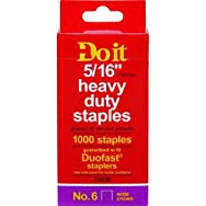 dib Global Sourcing 314730 No. 6 Staples Pack of 5