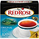 Red Rose Original Flavor Tea Bags, 100-Count (Pack of 4)