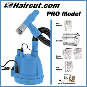 haircut machine with vacuum