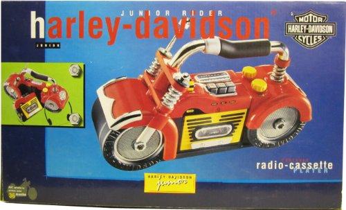 Harley Davidson cassette player, AM/FM Radio Junior Rider