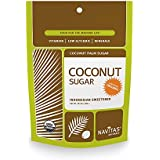 Navitas Naturals Organic Coconut Palm Sugar,  1 Pound  Pouches (Pack of 2)