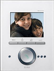 gira 260012 video terminal glas wei baumarkt. Black Bedroom Furniture Sets. Home Design Ideas