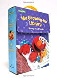 My Growing-Up Library: Sesame Street Board Books- Too Big for Diapers / Big Enough for a Bed / Too Big for Bottles / Big Enough for a Bike (0375859845) by McMahon, Kara