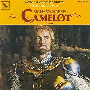 london cast recording richard harris camelot original