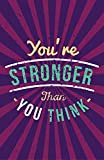 Blacksheep - Inspirational / Typography Poster - You're stronger