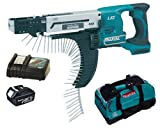 MAKITA 18V LXT BFR750 BFR750Z BFR750RFE SCREW GUN, BL1830 BATTERY, DC18RC CHARGER AND LXT400 BAG - PF TRADE