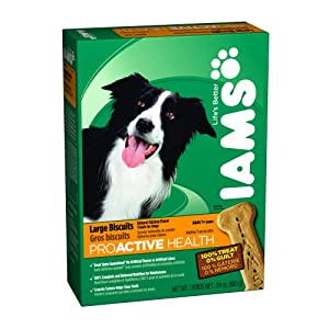 IAMS Large Bicuits for Dogs (Original Formula), 24-Ounce Boxes (Pack of 6)
