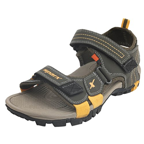 SPARX-Olive-Yellow-Sandals-Size-7-SS439