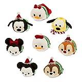 Disney Mickey Mouse and Friends ''Tsum Tsum'' Plush Holiday Set - Mini - 3 1/2''