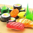まるでお寿司 がんこ 寿司飴 5種 (マグロ・エビ・イクラ・玉子・巻物) 1袋 12個入り [敬老の日ギフト対応商品]