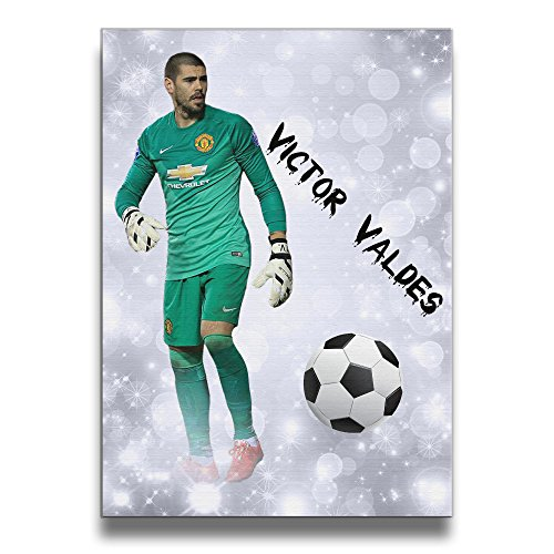 ReBorn Victor Soccer Valde Frameless Giclee Artwork Painting For Home Office Decor (I Love My Toaster Sticker compare prices)