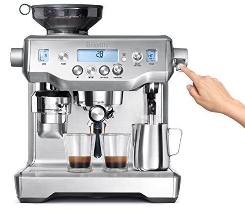 Cheap Breville BES980XL Oracle Espresso Machine, Silver