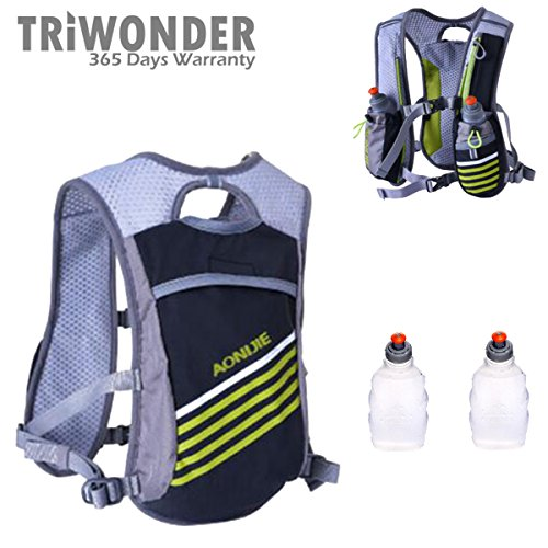 Triwonder-Outdoors-Mochilas-Trail-Marathoner-Running-Race-Hydration-Vest-Hydration-Pack-Backpack-with-2-Water-Bottles