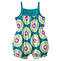 Product Image Newborn Girls' Circo® Dots Romper - Aqua