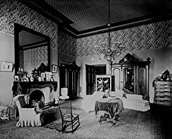 Bedroom at the White House, Washington, 1893 Photograph - Beautiful 16x20-inch Photographic Print from the Library of Congress Collection
