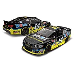 2013 Tony Stewart #14 Code 3 Dover 400 Fedex Autism Awareness Raced Win Version 1 24... by Action Racing Collectables