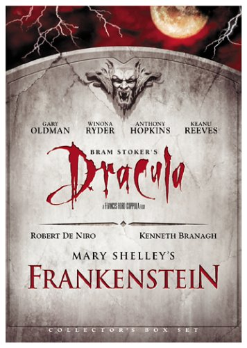 Cover art for  Bram Stoker's Dracula/Mary Shelley's Frankenstein - (Collector's Box Set)