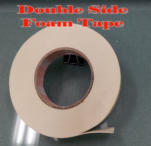 "Premium Double Sides Foam Tape Sided 24Mm X 9M 1""X 30Ft White Sticker Mounting Poster Adhesive"