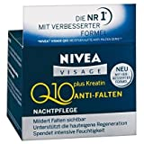 Genuine German Nivea Visage Q10 Plus Creatine Anti Wrinkle Night Cream 1.7oz. / 50ml new & better formula