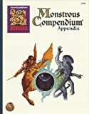 Monstrous Compendium Appendix (Advanced Dungeons & Dragons, 2nd Edition) (1560768754) by John Nephew