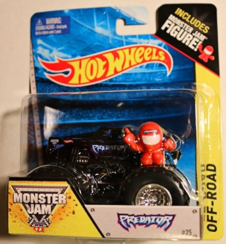 Hot Wheels Off-Road - Monster Jam 2014 - Predator # 25 (Includes Monster Jam Figure)