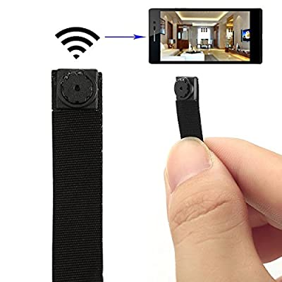 Totoao® HD Mini Portable Hidden Spy Camera P2P Wireless Wifi Digital Video Recorder for IOS Android Phone APP Motion Detecting