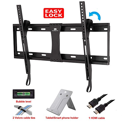 Read About Mounting Dream MD2268-LK Tilting Mount for 42-Inch to 70-Inch Samsung, Sony, Vizio, LG, S...