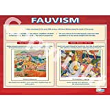 Fauvism Art Educational Wall ChartPoster in laminated paper A1 850mm x 594mm