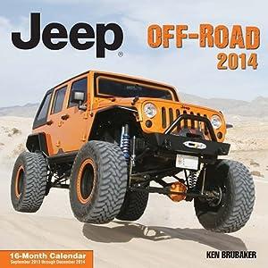 Jeep Off-Road 2014 Wall Calendar