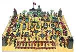 ZY Soldado de la segunda guerra mundial que 146 ni?os de tanque militar modelo juguete ca??�n regalos de cumplea?os