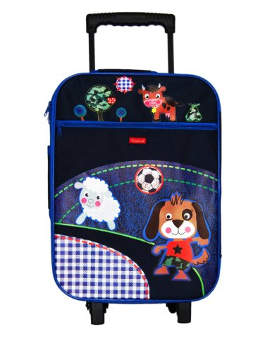 Trolley Suitcase Strawberry Sun - Hund