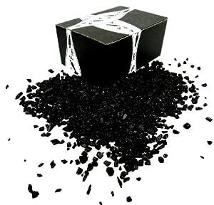 ChocoRocks Black Coal, 10 oz Bag in a Gift Box