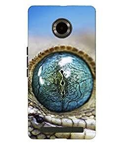 Snazzy Printed Back Cover for Micromax Yu-Yuproria